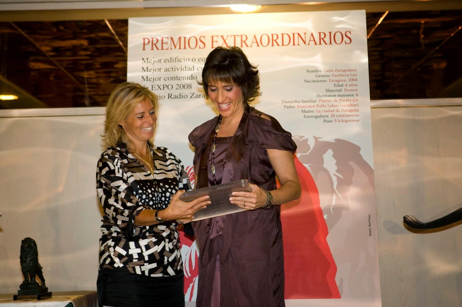PREMIOS EXTRAORDINARIOS EXPO 2008