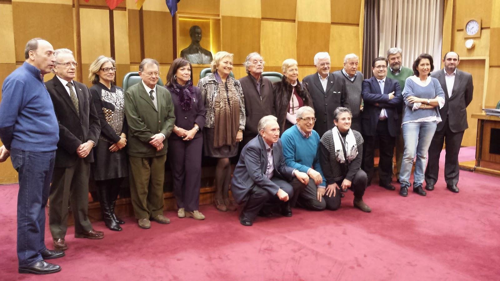 Una nueva junta dirigirá los próximos tres años la Asociación de Exconcejales Democráticos de Zaragoza